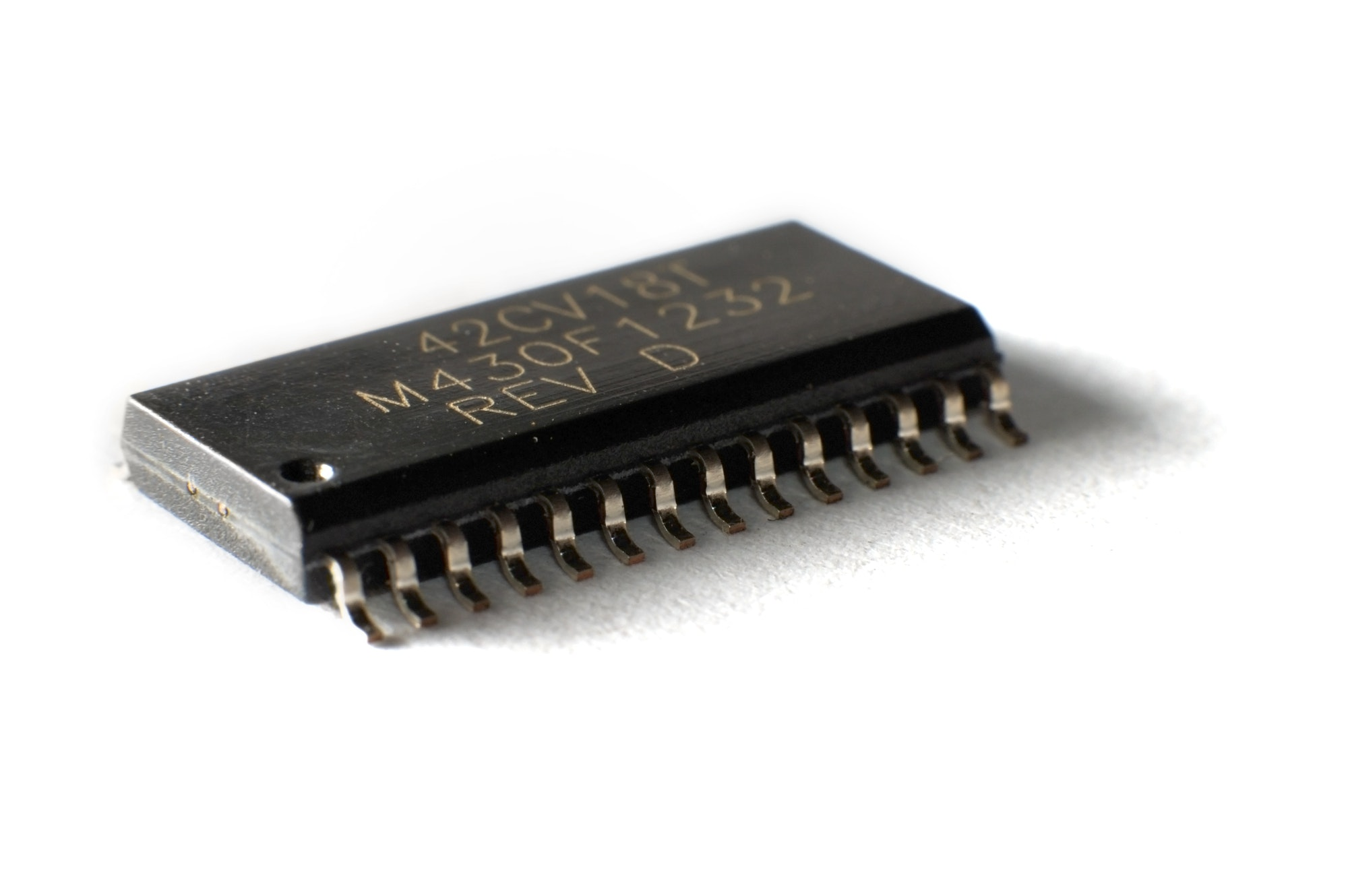 SMD electronic chips in SOIC case